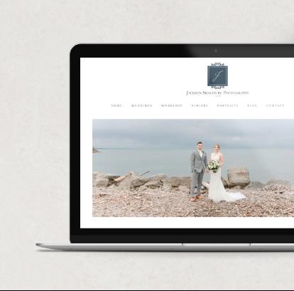 Jackson Signature Photography Web Design