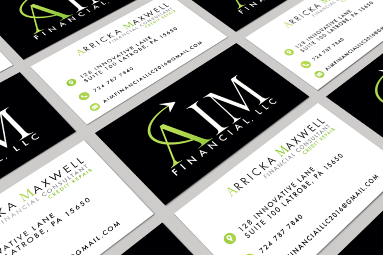 AIM Financial Business Card