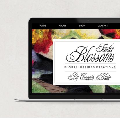Tender Blossoms Web Design