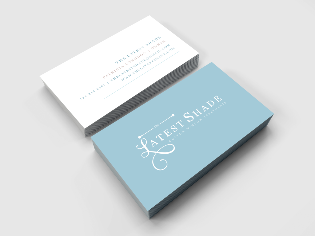 The Latest Shade Business Card Design